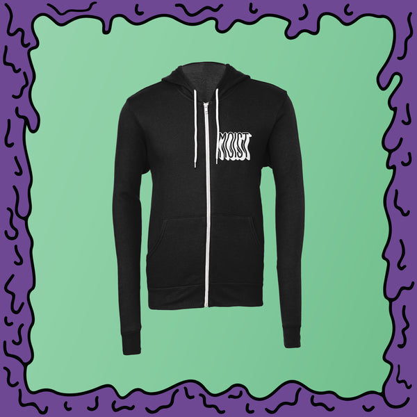 MOIST is the WOIST v1 - Unisex Zip Hoodie