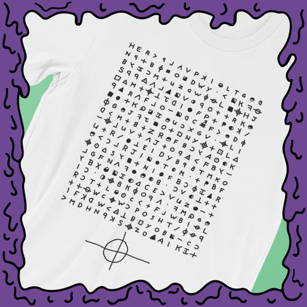 Zodiac Killer - 340 Cipher - Shirt