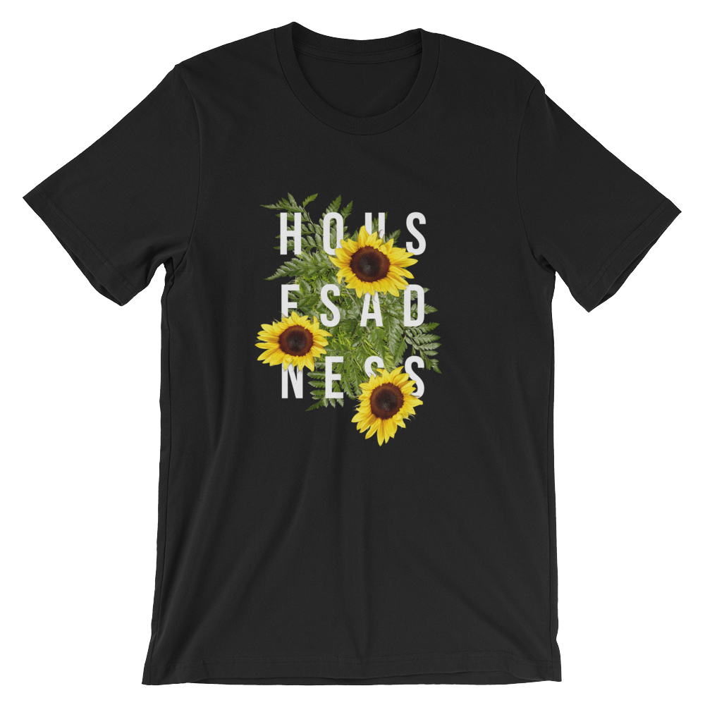 House Sadness - Flower Power - T-Shirt