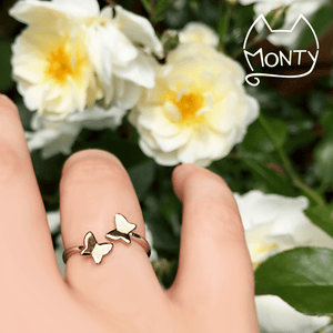 Butterflies' Dance - Ring - Jewelry - Monty Boy