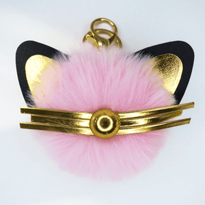 Fluffy Cat Hanger for Bag or Keys - Accessories - Monty Boy
