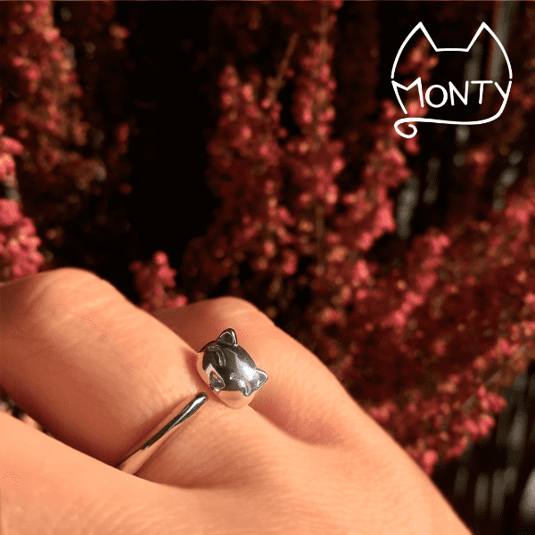 Happy - Cat Ring - Jewelry - Monty Boy