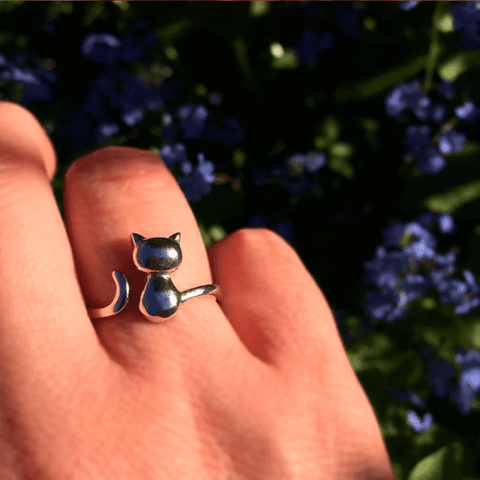 Kitty - Cat Ring - Jewelry - Monty Boy