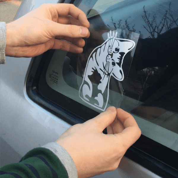 Kitty Bumper Sticker