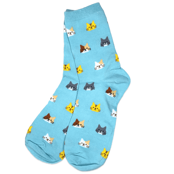Blue Cat Socks - Apparel - Monty Boy