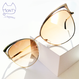 Mew Fashion Cat Sunglasses (Brown/Sunburst) - Accessories - Monty Boy