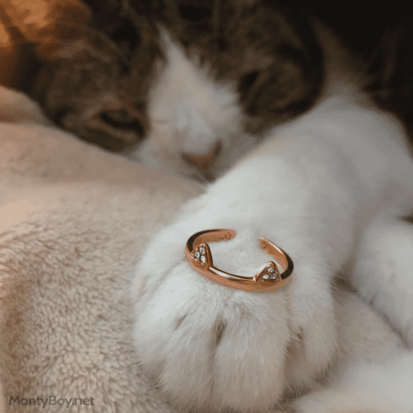 Mew - Cat Ring (Silver)
