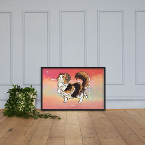 Monty and Molly Poster - Zodiac Sign ARIES - Home/Decor - Monty Boy