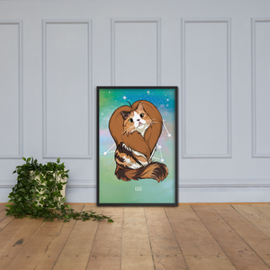 Monty and Molly Poster - Zodiac Sign LEO - Home/Decor - Monty Boy