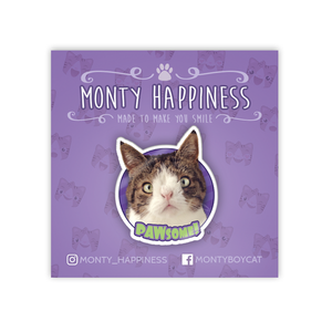 The PAWsome Monty Pin - Accessoires - Monty Boy