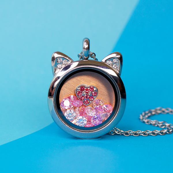 Pink Sparkling Crystal - SPECIAL jewelry - Monty Boy