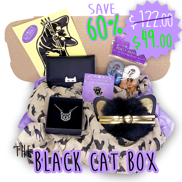 Black Cat Box - Accessories - Monty Boy