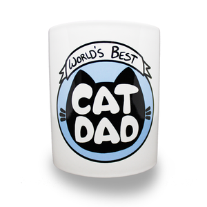 World's Best Cat Dad Mug - Home Decor - Monty Boy