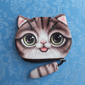 Funny Cat Stuff - Cat Purse (Monty and friends) - Accessories - Monty Boy