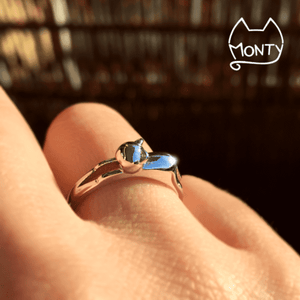 Cute - Cat Ring - Jewelry - Monty Boy