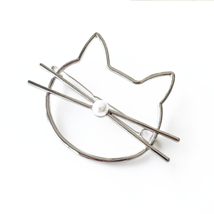 Dainty Cat Hair Clip - Accessories - Monty Boy