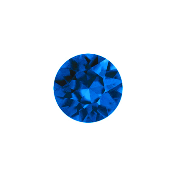 Dark Blue Sparkling Crystal - SPECIAL jewelry - Monty Boy