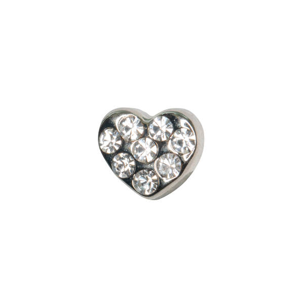 Crystal Heart Charm - SPECIAL jewelry - Monty Boy