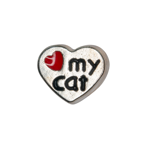 Love My Cat Charm - SPECIAL jewelry - Monty Boy