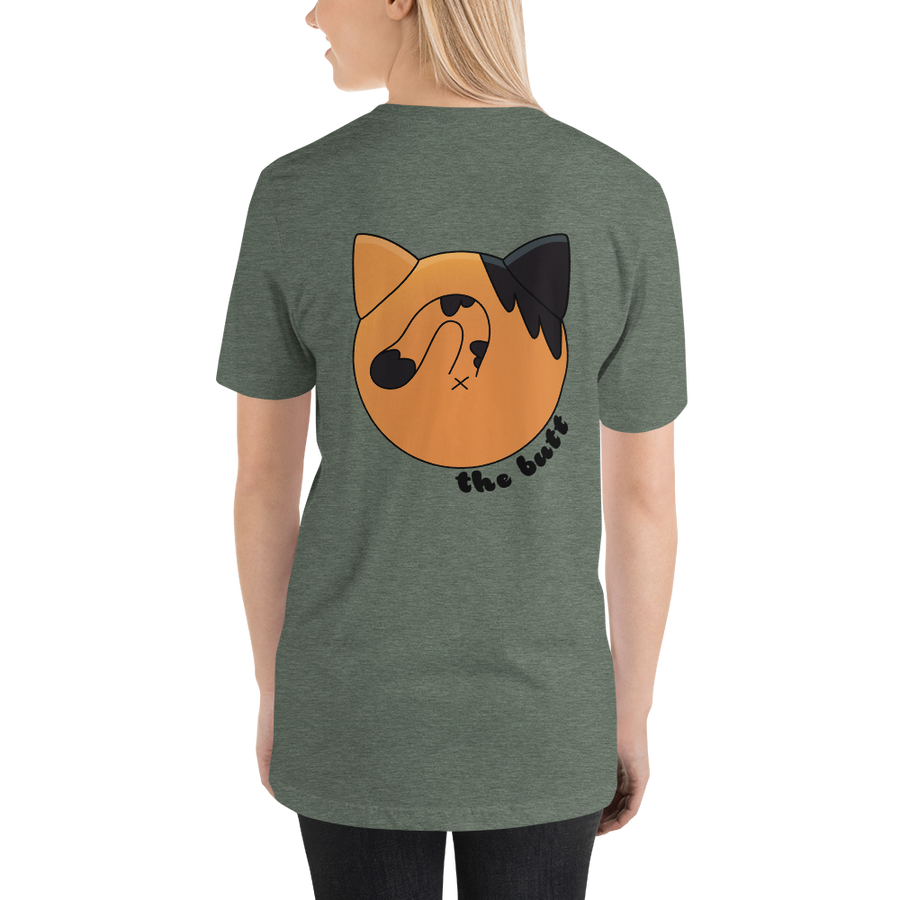 Molly Blep-Butt Unisex T-Shirt -  - Monty Boy