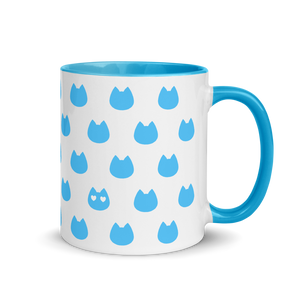 Cat Lover's Mug - Blue - Home/Decor - Monty Boy