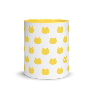 Cat Lover's Mug - Yellow - Home/Decor - Monty Boy