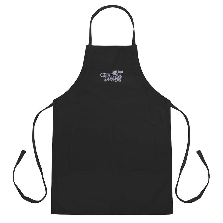 Cat Dad as Fluff Embroidered Apron - Apparel - Monty Boy