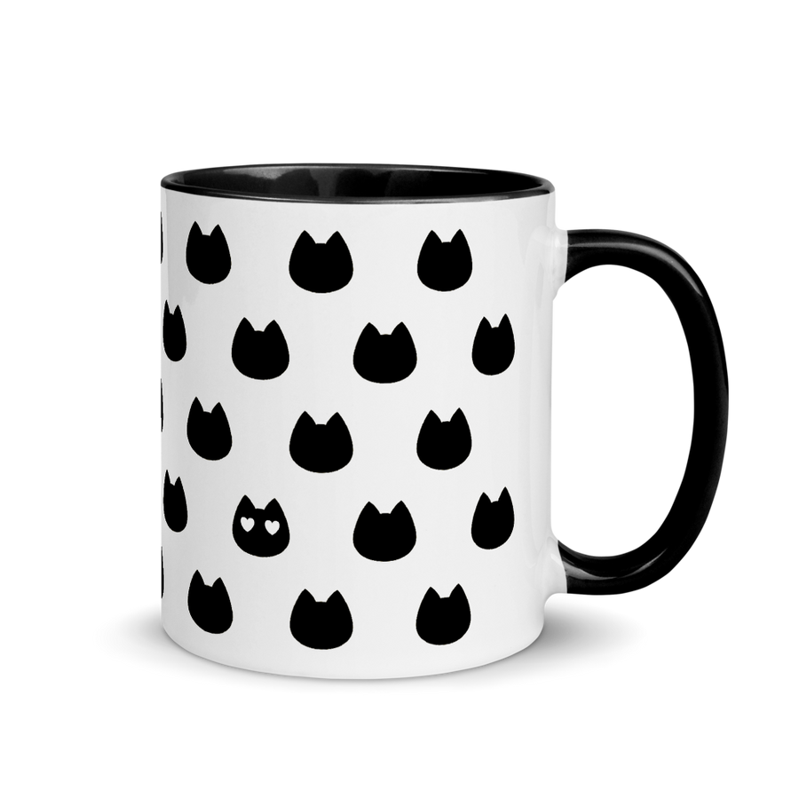 Cat Lover's Mug - Black - Home/Decor - Monty Boy
