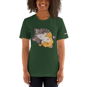 Happy as Fluff Unisex T-Shirt - Apparel - Monty Boy