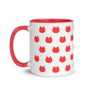 Cat Lover's Mug - Red - Home/Decor - Monty Boy
