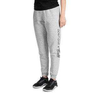 """Dont Give A Fluff"" Unisex Joggers - Apparel - Monty Boy"