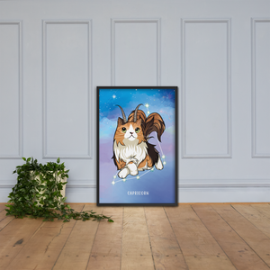 Monty and Molly Poster - Zodiac Sign CAPRICORN - Home/Decor - Monty Boy
