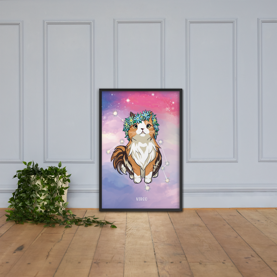 Monty and Molly Poster - Zodiac Sign VIRGO - Home/Decor - Monty Boy