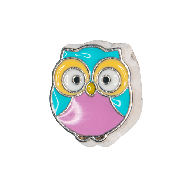 Fancy Owl Charm - SPECIAL jewelry - Monty Boy