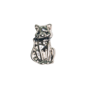Sitting Cat with Black Colar Charm - SPECIAL jewelry - Monty Boy