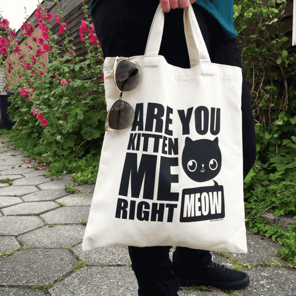 Cat Tote Bag - Bag - Monty Boy