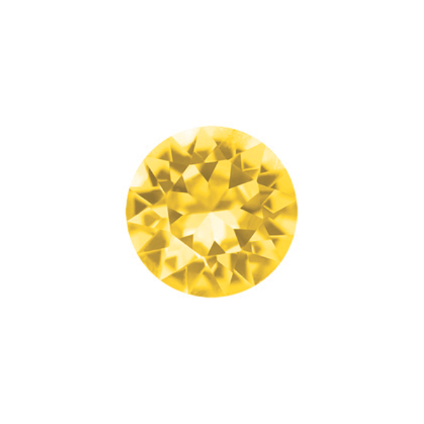 Yellow Sparkling Crystal - SPECIAL jewelry - Monty Boy