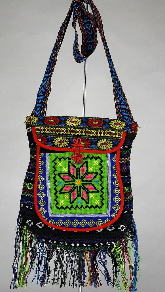 bag: Embroidered Shoulder Bag