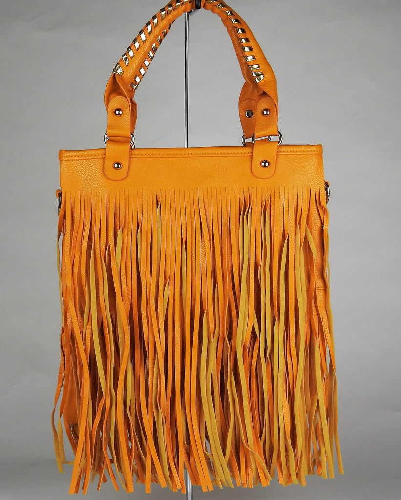 bag: Leather Tassel Bag