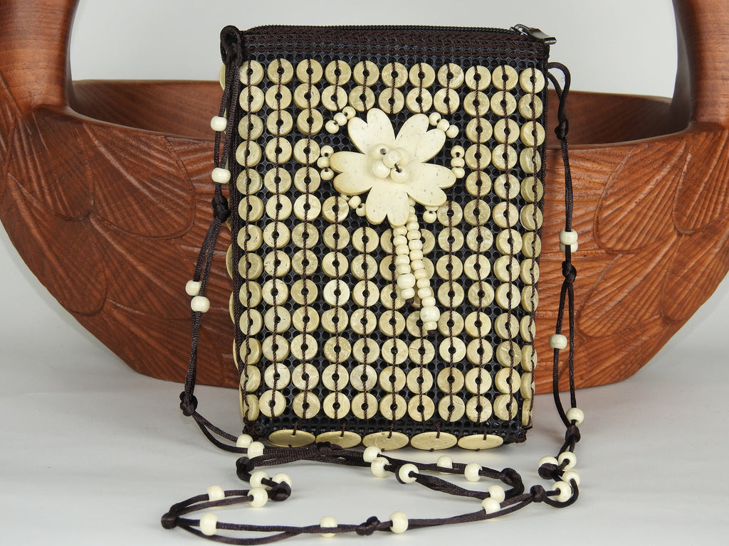 bag: Coconut Shell Coin Purse