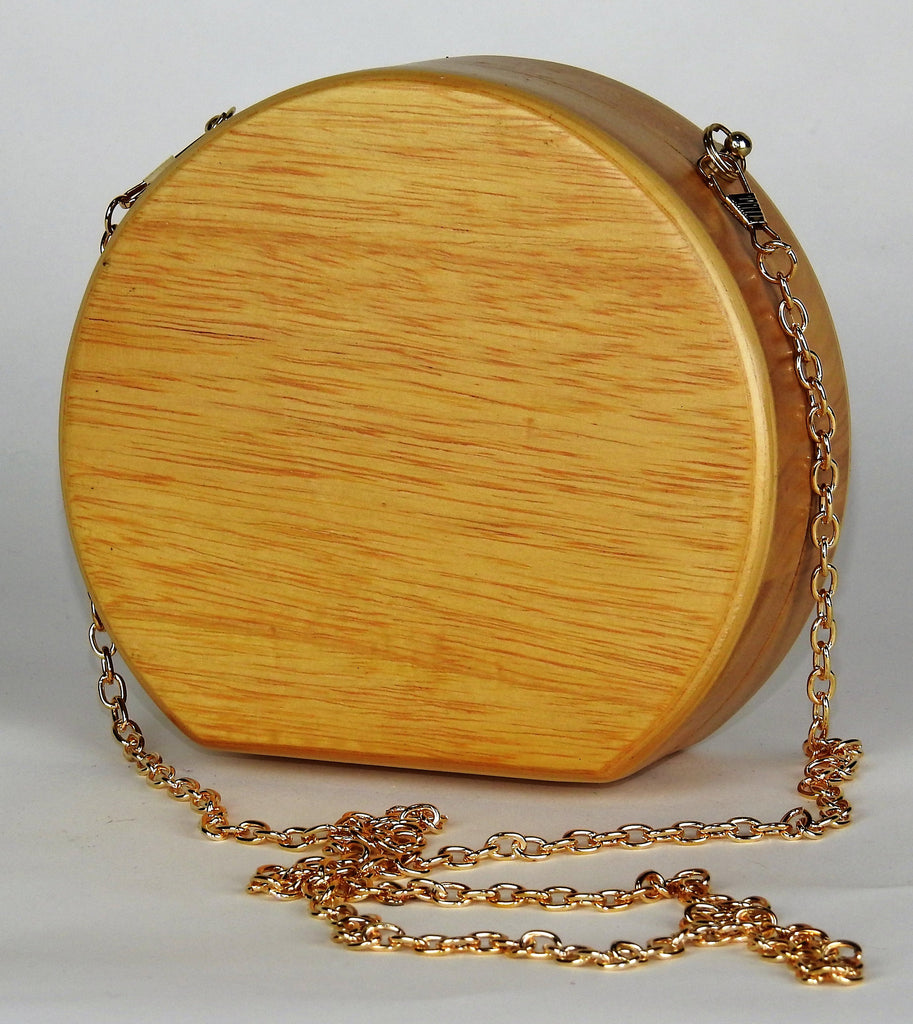 bag: Wooden Purse