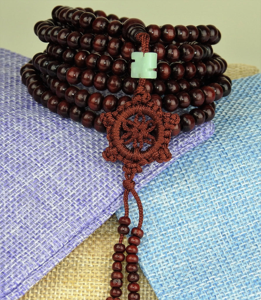jewelry: Bead Bracelet: Sandalwood