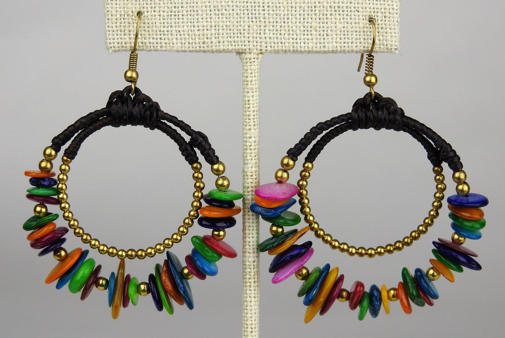jewelry: Bead Earrings