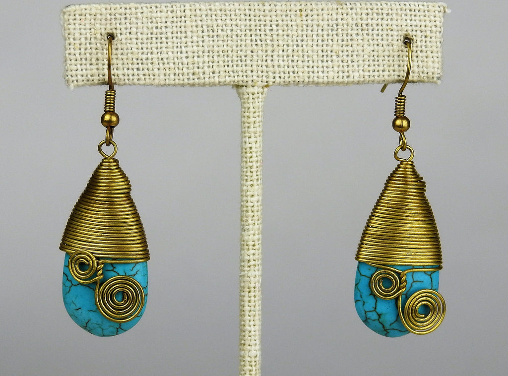jewelry: Turquoise Earrings