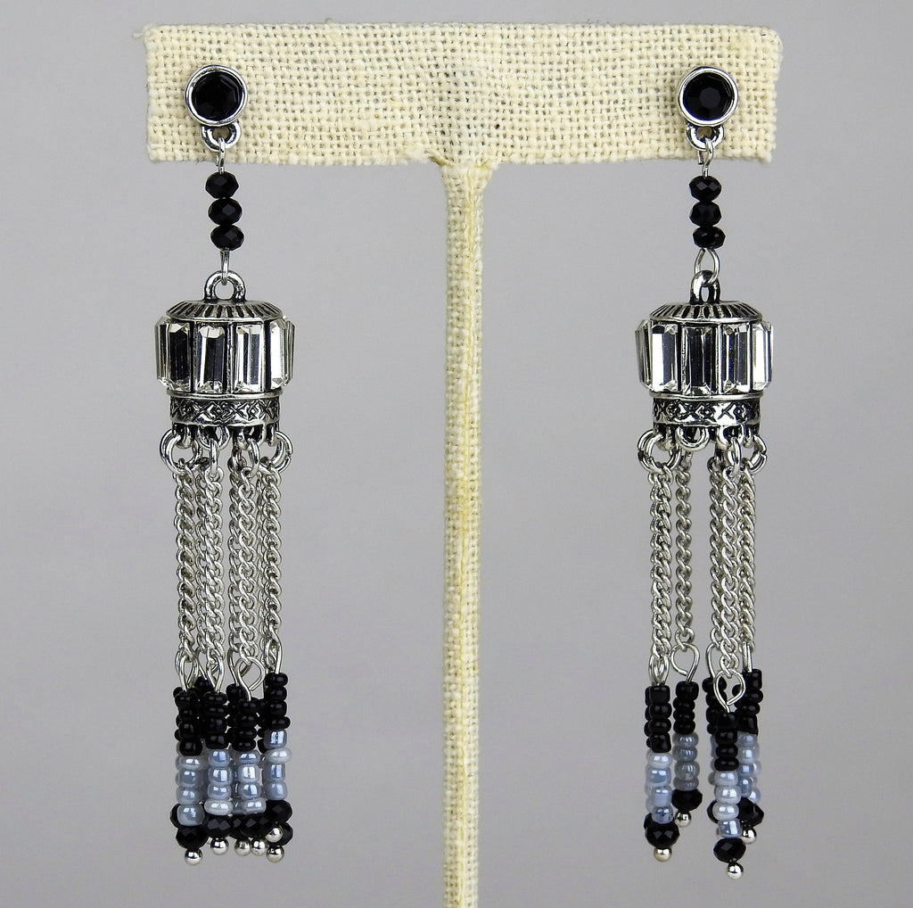 jewelry: Chandelier Earrings