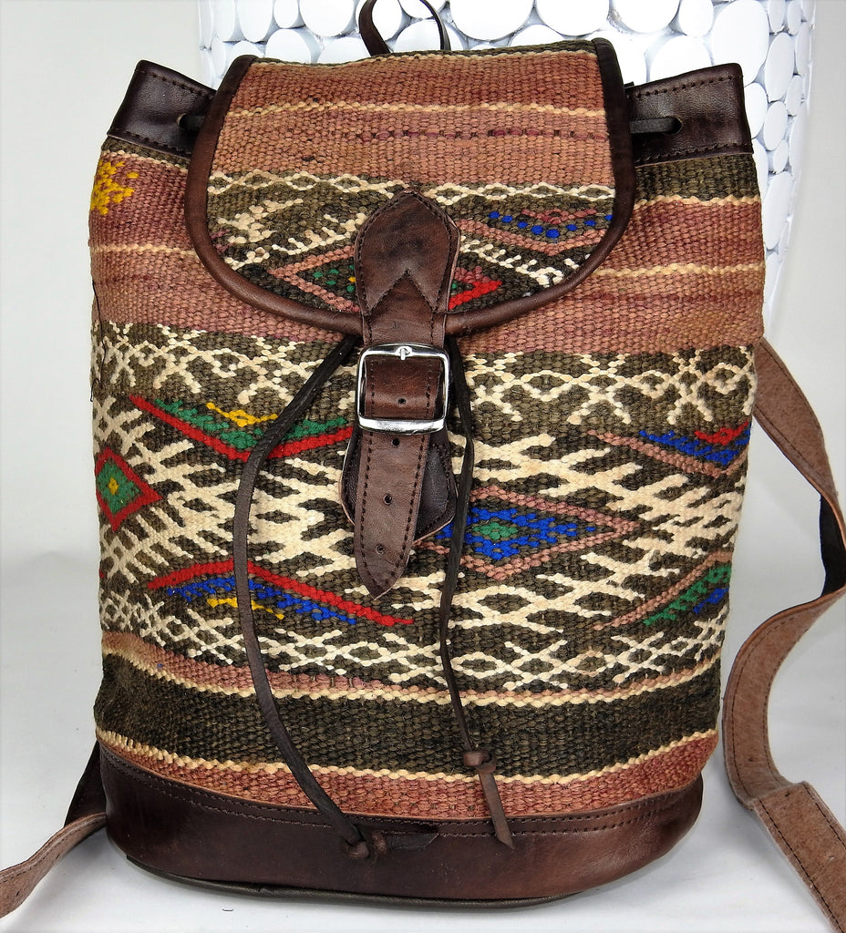 bag: Moroccan Vintage Backpack