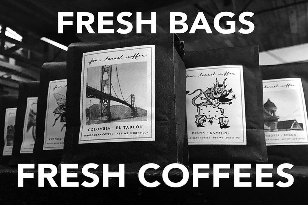 New Bags, New Coffees, Same Us