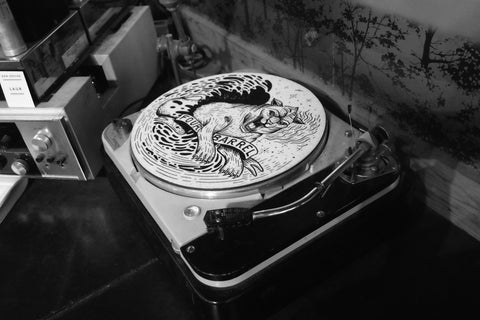Cosmic Tiger Felt Slipmat