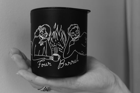 Tramps Camp Mug