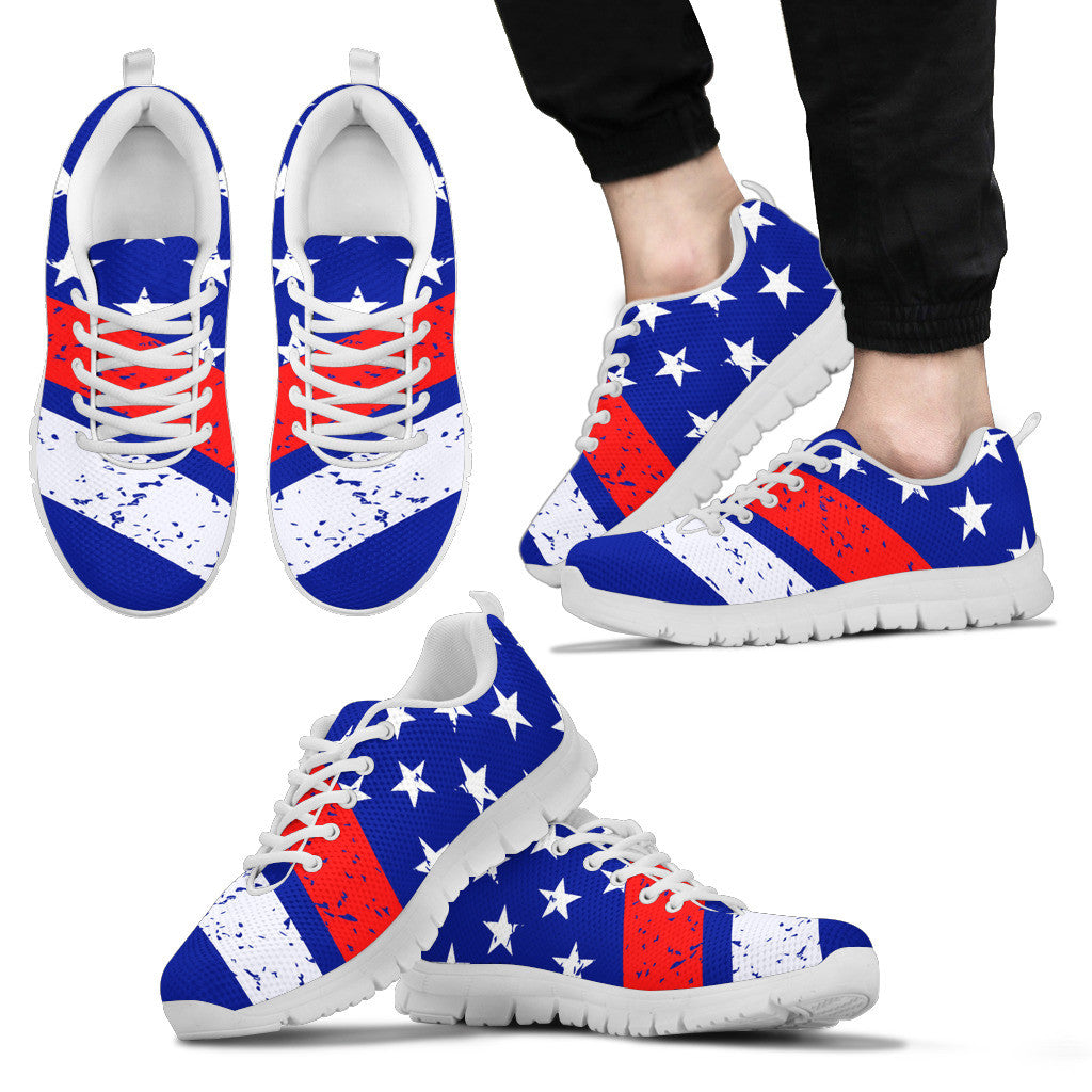Men's OLD GLORY USA Sneakers